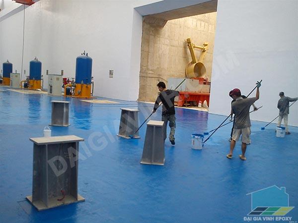 Dịch vụ sơn epoxy Biên Hoà