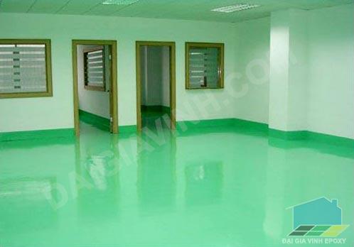 6 lợi ích khi sử dụng sơn sàn epoxy