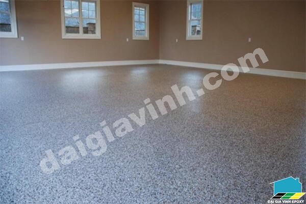 Sơn sàn epoxy dần thay thế gạch men