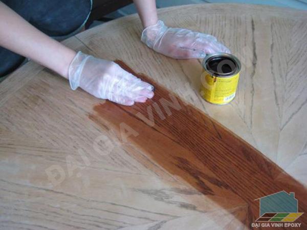 Cách pha chế sơn PU