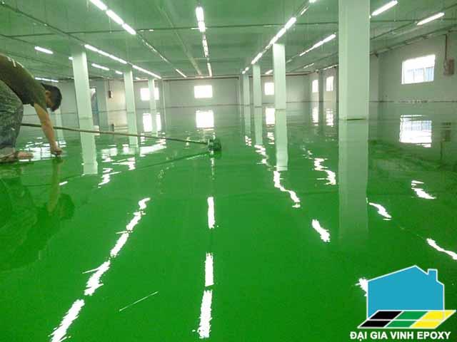 Sơn tĩnh điện epoxy là gì? Thi công sơn tĩnh điện Epoxy Đại Gia Vinh