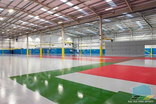 Sơn nền epoxy, Cung cấp các loại sơn nền epoxy - Giải pháp tốt nhất cho nền nhà xưởng
