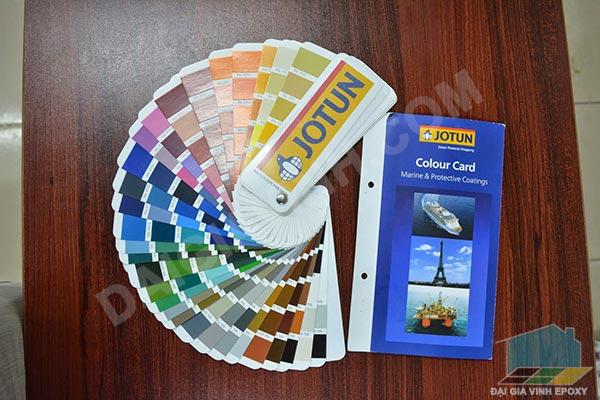 Bảng màu sơn epoxy jotun