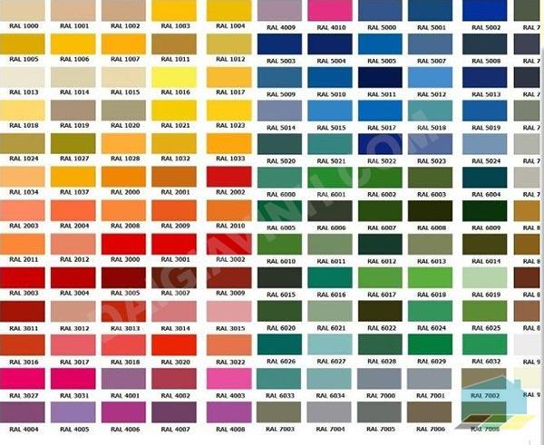 Bảng màu sơn epoxy jotun mang lại cho quý khách nhiều lựa chọn