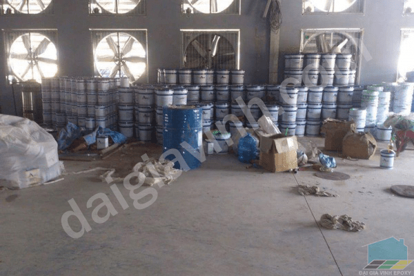 Dịch vụ chất lượng sàn epoxy