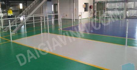 Hệ thống sàn epoxy