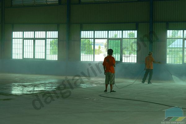 Phương pháp sơn sàn công nghiệp