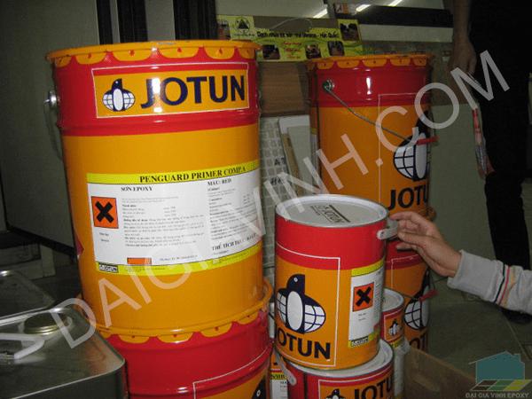 Quy trình sơn epoxy jotun