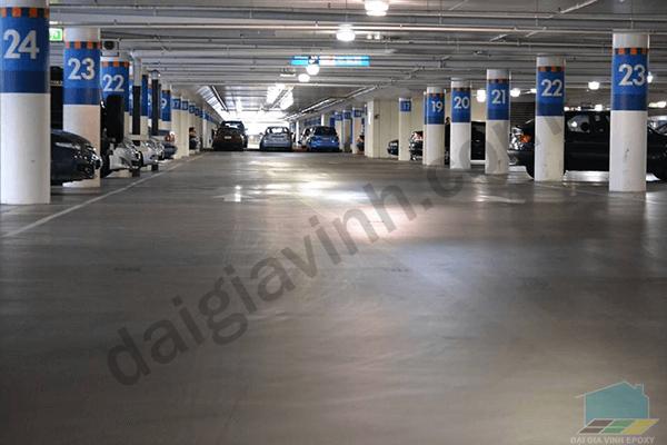 Sơn epoxy cho nhà máy tải trọng nhẹ chất lượng