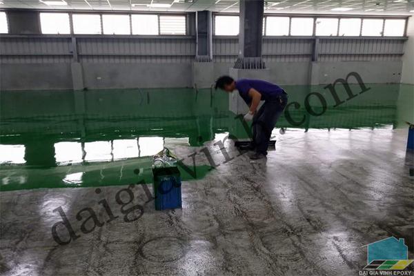 Sơn epoxy cho sàn có độ ẩm cao
