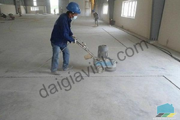 Sử dụng sơn epoxy để sơn nền nhà xưởng