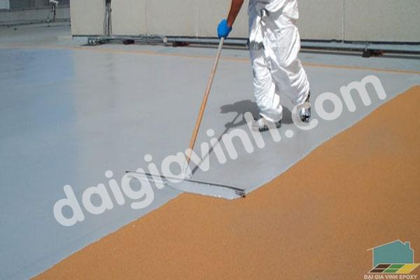 Đơn vị thi công sơn epoxy