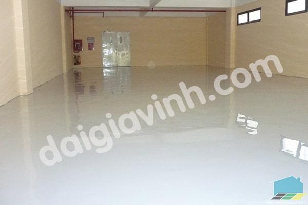 Sơn sàn công nghiệp với sơn epoxy