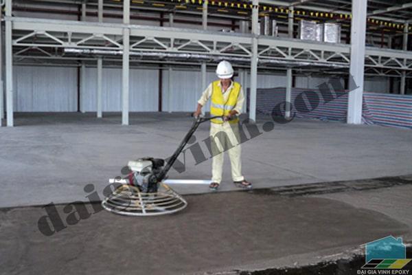 Sơn sàn epoxy cho nền xi măng