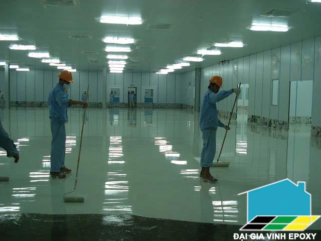 sơn epoxy cho xưởng dược phẩm
