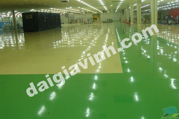 Sơn nền epoxy cho phòng sạch chất lượng