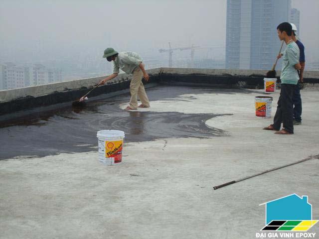 thi công sơn nước