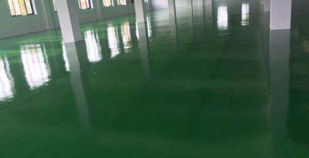 Thi công Sơn tĩnh điện epoxy của Công ty Đại Gia Vinh