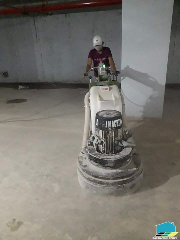 thi công đánh bóng sàn bê tông