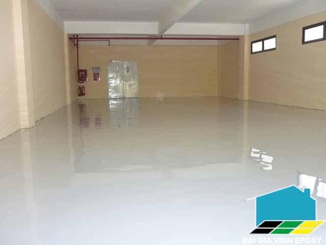 sơn sàn epoxy cho khu thương mại