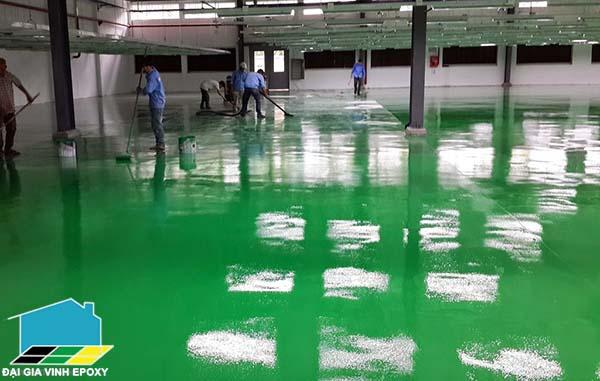 Sơn epoxy cho sàn công nghiệp thực phẩm