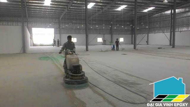 Sơn epoxy trên nền bê tông yếu