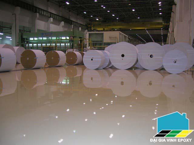 Dịch vụ sơn sàn công nghiệp theo tiêu chuẩn Châu Âu