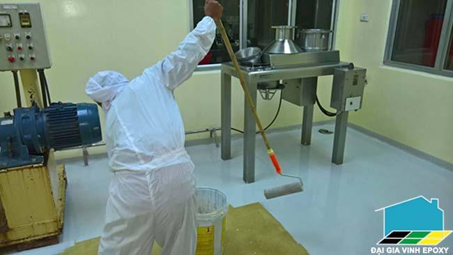Thi công sơn epoxy cho bệnh viện