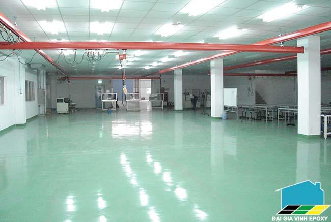 báo giá thi công sơn epoxy cho sàn phòng sạch