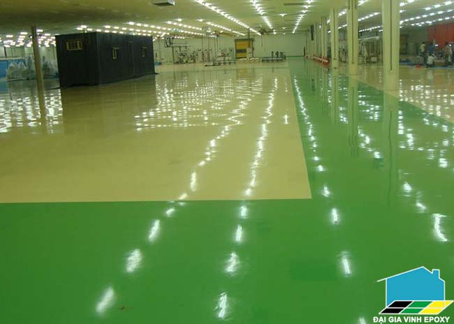 Thi công sơn epoxy cho sàn phòng sạch