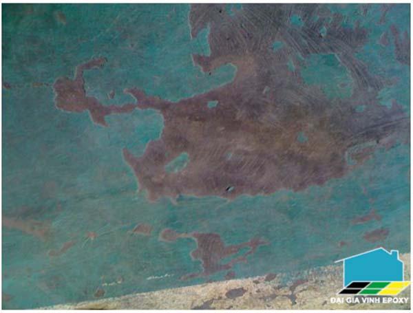 sàn sơn epoxy nhanh hỏng