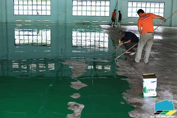 sơn sàn epoxy, sơn epoxy nhà xưởng, Sơn nền công nghiệp, Sơn nền bê tông, Sơn bê tông, thi công sơn epoxy