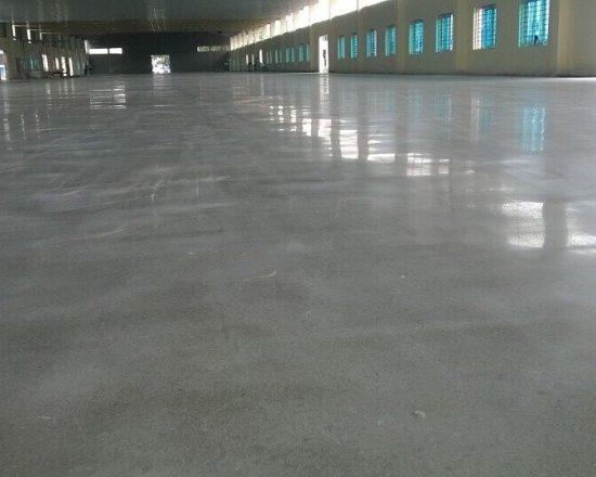 Sàn bê tông đánh bóng